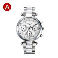 JULIUS Quartz Watch Ladies Bracelet Watches Relogio Feminino Erkek Kol Saati Dress Stainless Steel Alloy Silver Black Blue Pink