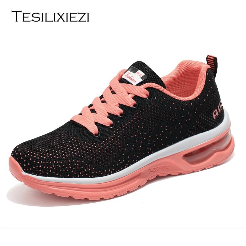 reputación confiable venta de descuento retro € 21.67 41% de DESCUENTO|Zapatos de mujer de verano Zapatillas de deporte  de marca para mujer zapatos de correr de primavera zapatos de entrenamiento  ...
