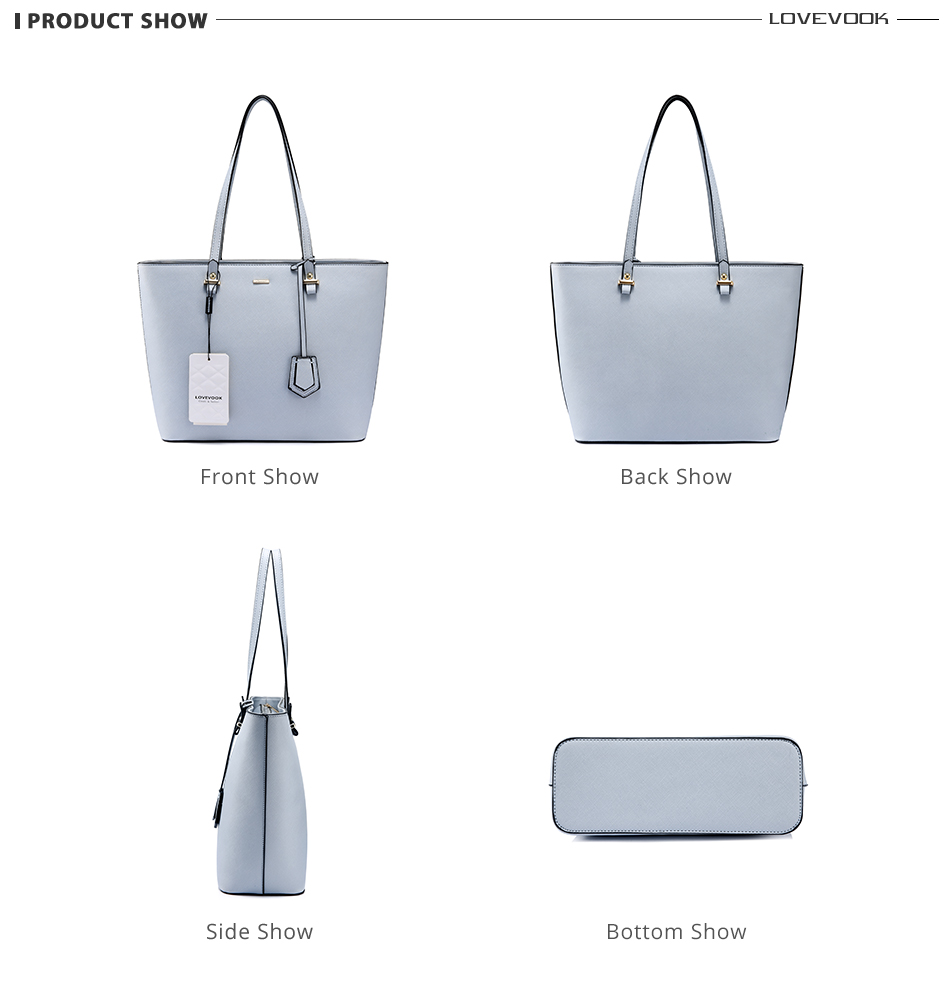 Lovevook bolsa de ombro conjunto sacos corsobody