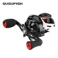 Gugufish carretel de pesca 10 + 1bb rolamentos de esferas carretel de arremesso isca de fundição carretel de pesca alta velocidade 7.2:1|Carretilhas de pesca| |  -