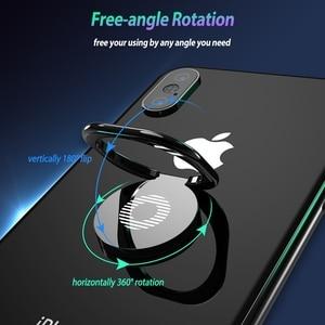 Image 3 - Moblie Telefoon Ring Houder Voor iPhone Xs Max X Samsung S10 Telefoon Grip Vinger Ring Houder Ondersteuning Magnetische Auto Mobiele mobiele Houder