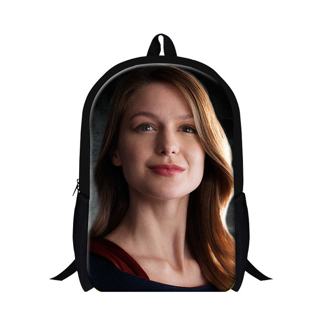 ffe74e31ef New Supergirl 3D Printing Children Backpack For Teenage Boys Girls Cartoon School  Bag Kids Shoulder Travel Bags Students Mochila