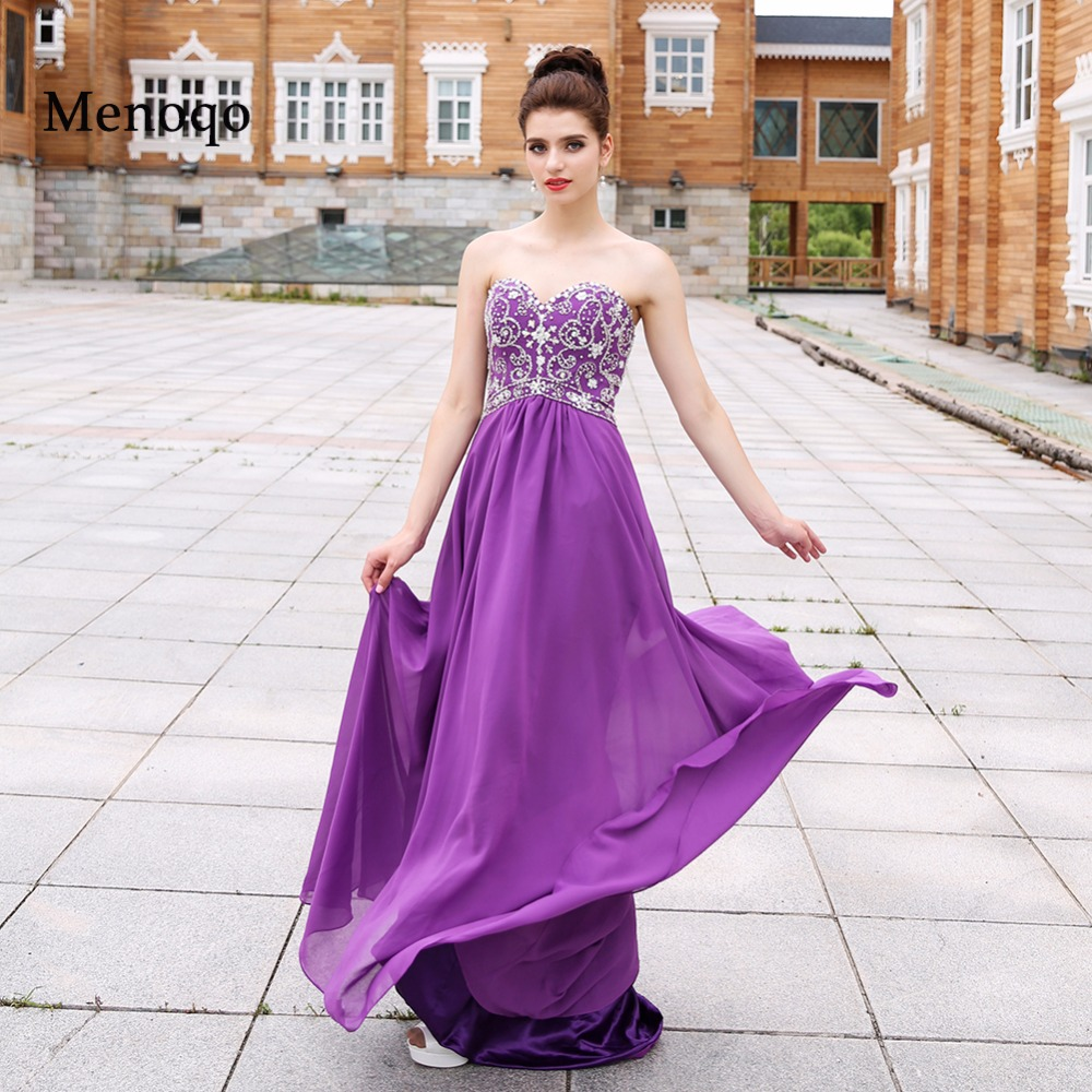 Online Get Cheap Long Purple Evening Gown -Aliexpress.com ...