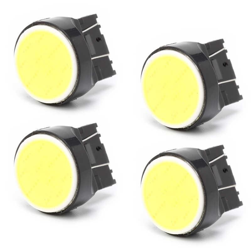 Yeni T20 7443 COB 12SMD araba LED geri ışık dönme sinyali lamba ampulü