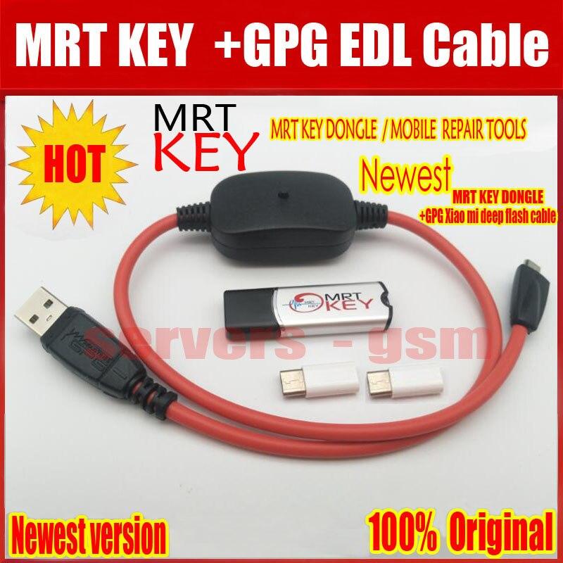 2019 el más nuevo Original MRT clave Dongle + para GPG xiao mi cable