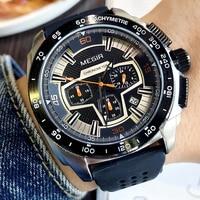 MEGIR Men S Fashion Luxury Quartz Watch Silicone Waterproof Casual Military Sports Watches Men Wristwatches Relogio