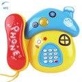 XFC Telefone Móvel Dos Desenhos Animados Da Criança Do Bebê Dos Miúdos Musical Educacional de Aprendizagem Toy Chrismas Presente Do Xmas