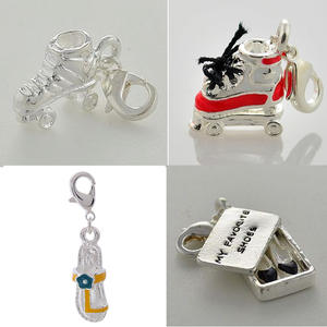 DOYUBO Cute DIY Shoes Charms Bracelets Shape
