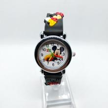 4D Mickey Spiderman Girls Boys Watch Children Quartz Wristwatches Batman Kids Watches Children's day Gift baby Clock Reloj Mujer