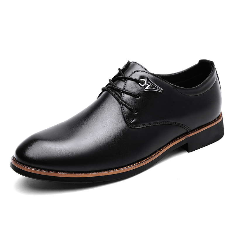 New Leather Shoes Men's Flats Shoes Men Shoes Fashion Lace Up Casual Shoes For Men Moccasins Dress Formal Oxford Scarpe Ax3