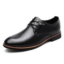 New Leather Shoes Men's Flats Shoes Men Shoes Fashion Lace Up Casual Shoes For Men Moccasins Dress Formal Oxford Scarpe Ax3 new leather shoes men s flats oxfords shoes fashion design men causal shoes lace up leather shoes for men sneaker oxford