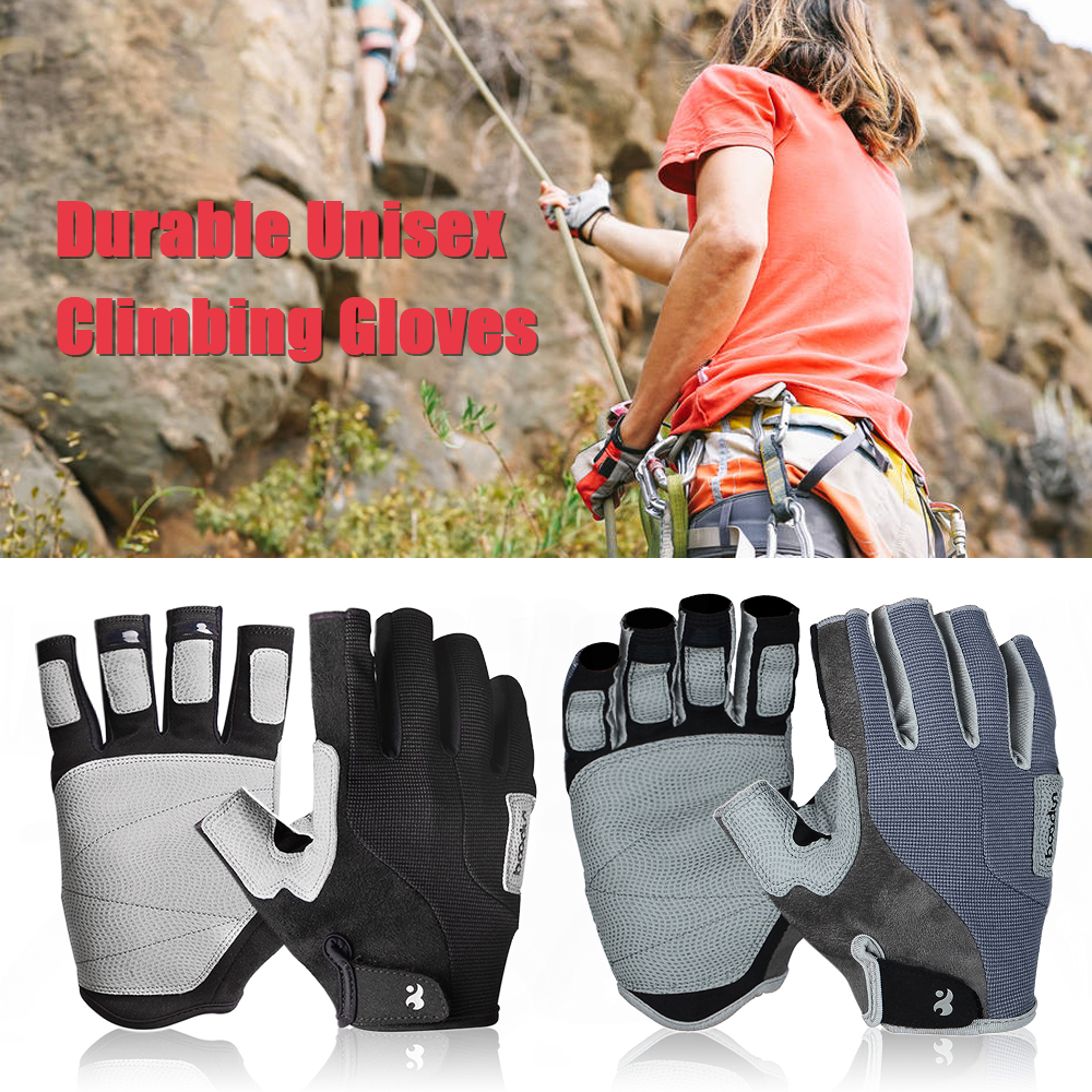 High Quality Climbing Gloves Sport Gloves Half-Finger Climbing Gloves Outdoors Mountain Hiking Climbing Equipment For Women Men