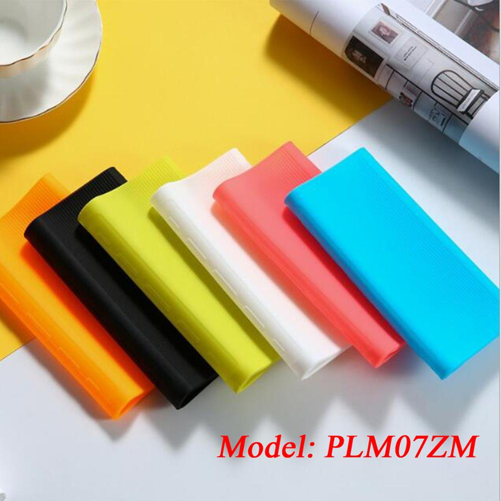 Soft Rubber Silicone Protection <font><b>Case</b></font> Cover Skin Sleeve Protector <font><b>for</b></font> 2019 NEW <font><b>Xiaomi</b></font> <font><b>Power</b></font> <font><b>Bank</b></font> 3 <font><b>20000mAh</b></font> PLM07ZM Accessories image