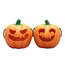 Creative Halloween Pumpkin Figurines Resin Model Crafts Cute Miniatures Decoration Accessories Gift