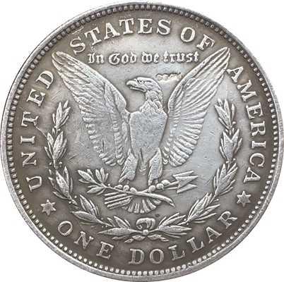EUA 1888 Dólar Morgan moedas COPIAR