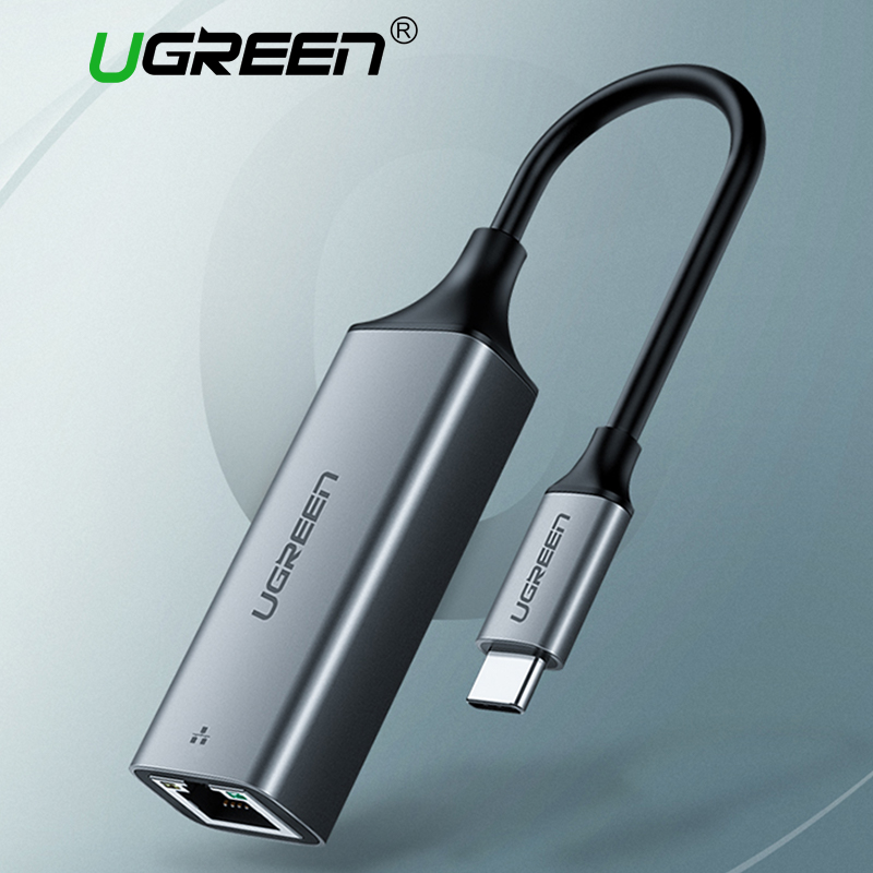 Ugreen USB C Ethernet USB-C to RJ45 Lan Adapter for MacBook Pro Samsung Galaxy S9/S8/Note 9 Type C Network Card USB Ethernet(China)