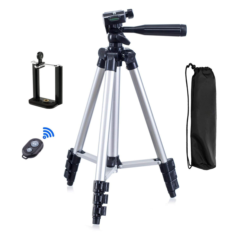 Camera Tripod Stand Mobile Phone Mini Portable Aluminum 3 In 1 Digital Remote Control Selfie Stick Flexible Laser Level 3110