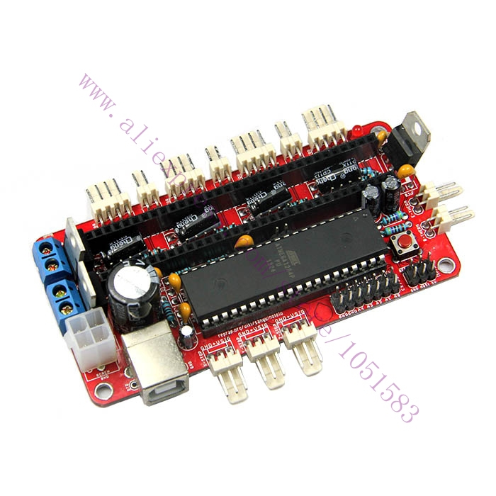 3D Printer Reprap Sanguinololu Ver1.3a control board for Replacing RAMPS Free Shipping