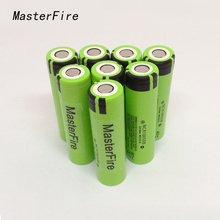 MasterFire 20PCS/LOT Original 18650 NCR18650B 3.7V 3400mAh Rechargeable Li-ion battery batteries For Panasonic Free Shipping