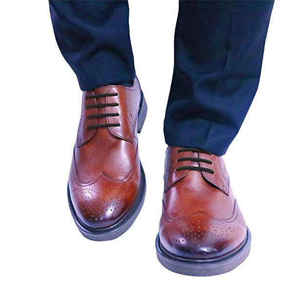 No-Tie Silicone Shoelaces Dress Shoes Silicone Elastic Round Laces Mens Womens 12-Piece Pack tie neck elastic waist glitter dress