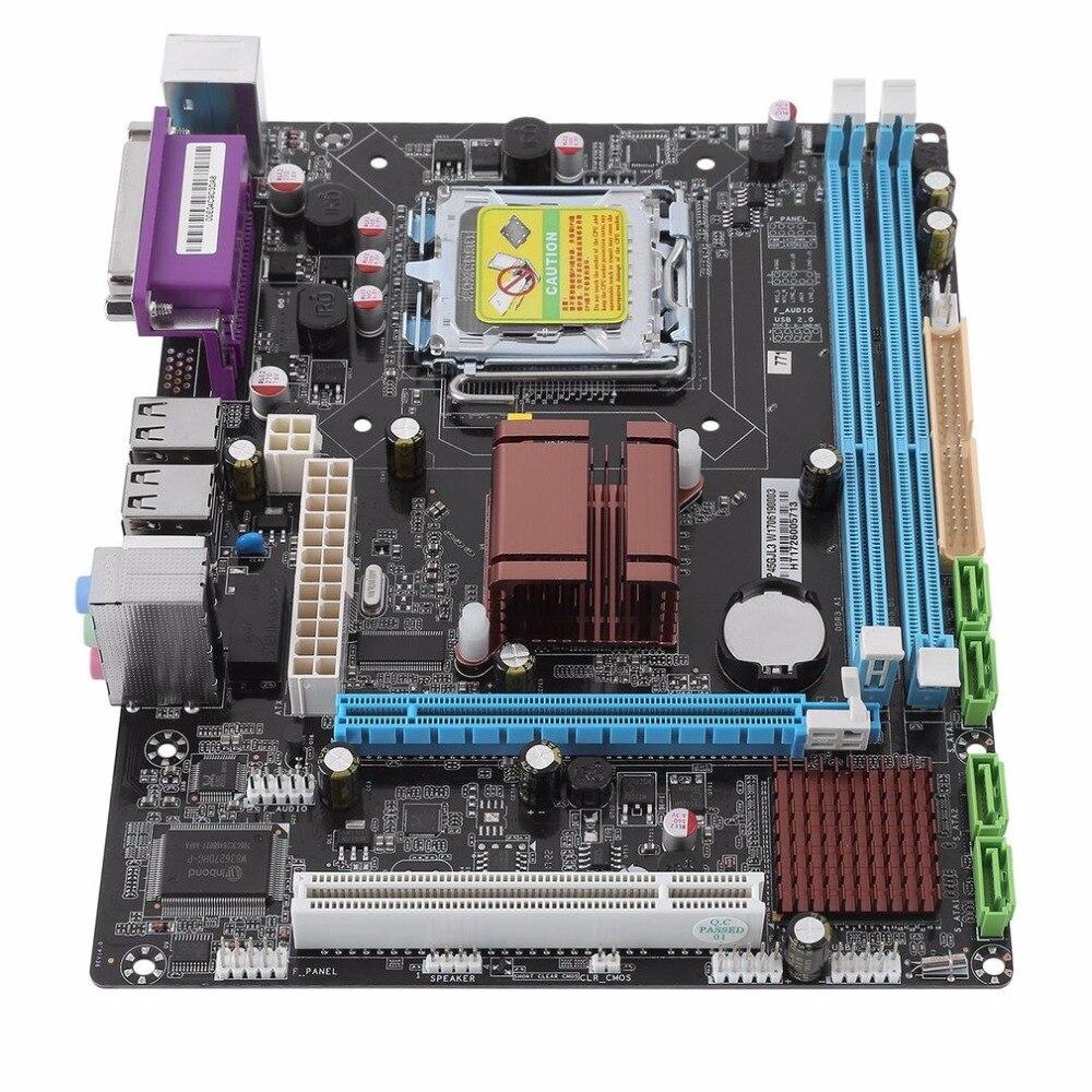 P45 Desktop Computer Mainboard Gigabit Ethernet Motherboard 771/775 Dual Board DDR3 Support L5420 for DDR3 1333/1066 8GB