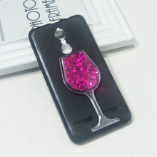 Dneilacc ТПУ Силиконовые чехлы для Lenovo K6 Power Note красное вино стекло жидкий зыбучий песок чехол для телефона ТПУ Силиконовая задняя крышка