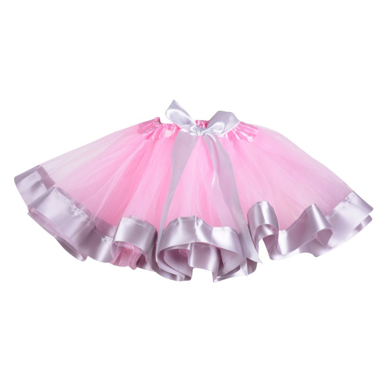 93a4d3dc3 New Baby Kids Girl Princess Party Tulle Dance Wear Toddler Ribbon ...