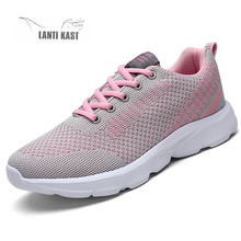 Women Casual Sport Shoes Flats Summer Mesh Sneakers Slip On Ladies Running Shoes Female Sneakers Plus Size 35-42 Sneakers women s sneakers ugly sneakers dino albat rc06 1252 5 summer runing shoes sport shoes textile for female ship from russia