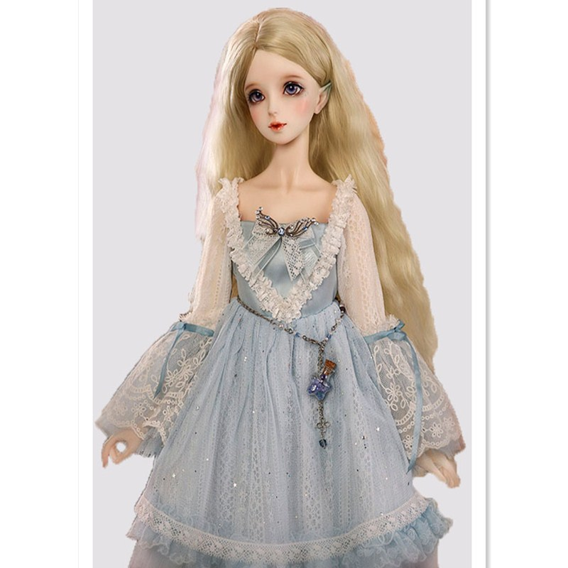 BEIOUFENG 1 3 1 4 1 6 1 8 BJD Doll Wig Long Wavy Wigs SD BJD Wig High Temperature Fiber Hair for Dolls Accessories Many Colors in Dolls Accessories from Toys Hobbies