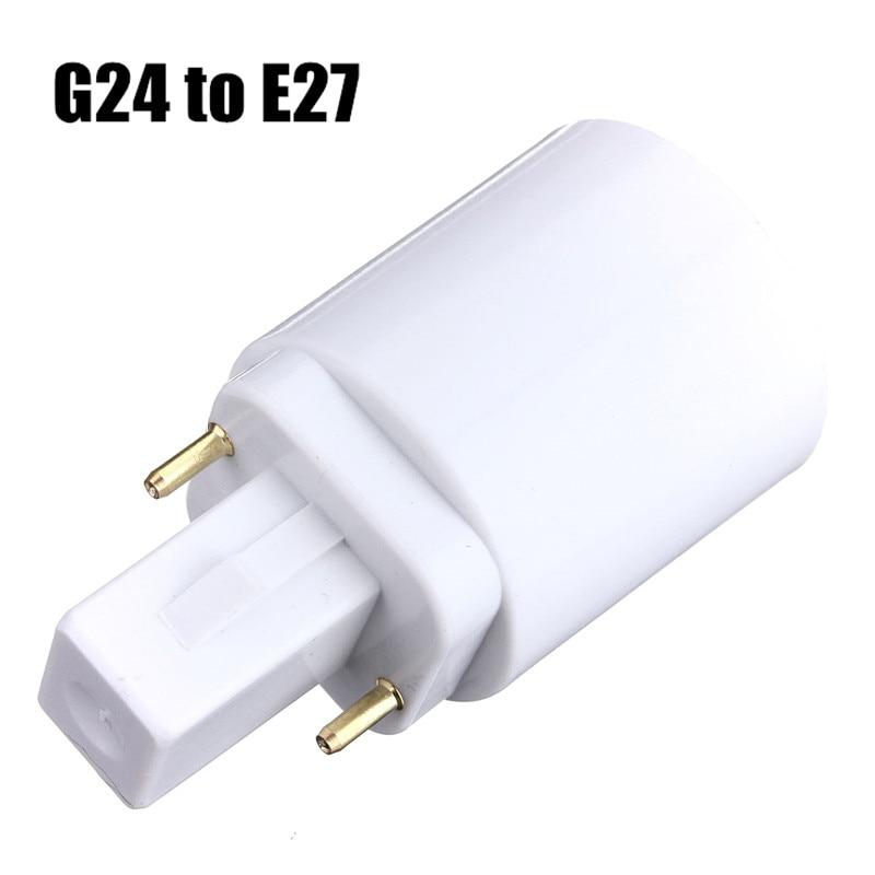 Lighting Accessories Lights & Lighting E27 E14 B22 Led Lamp Converter Holder To E12 E17 Gu10 G9 Led Light Base Socket E27 To 2 E27 Splitter Whole Category Choices Professional Design
