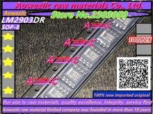 Aoweziic 100% nouveau importé original LM2903DR LM2903 double tension comparateurs SOP 8 IC puce