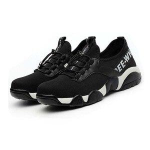 Image 5 - ฤดูร้อน2020ผู้ชายทำงานความปลอดภัยรองเท้าน้ำหนักเบาBreathable Casualรองเท้าผ้าใบป้องกันเจาะป้องกันBoots4