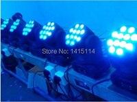 6 шт./лот  12*10 Вт  4 в 1  RGBW  светодиодный прожектор с движущейся головкой  сценический свет  светодиодный диско-свет для бара  dmx  dj  диско-освещен...
