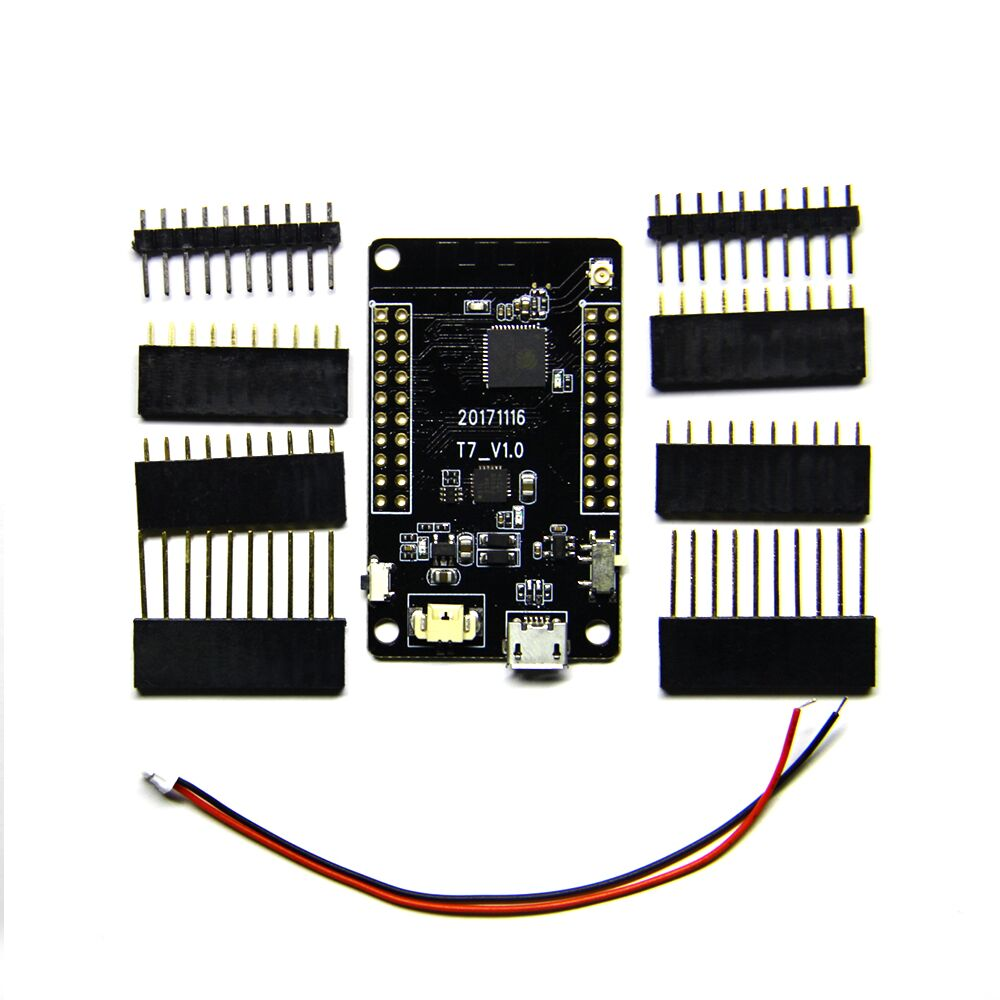 TTGO T7 ESP32 WiFi Module ESP 32 Bluetooth PICO-D4 4MB SPI Flash ESP-32 Development Board radio-controlled car