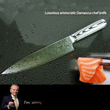 LD 9 Inch Japanese Chef Knife Meat Cleaver Kitchen With Wood Handle Multifunctional Stainless Steel Accessories