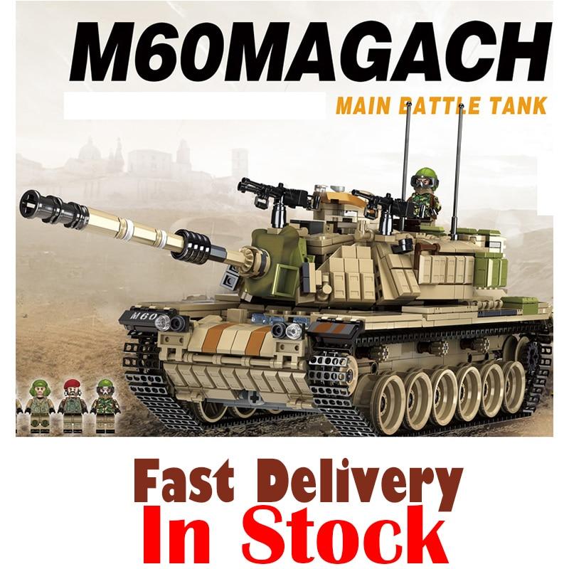 все цены на Panlos 1753PCS Army Tank Building Blocks Bricks Military Compatible Legoingly Weapons Brinquedo Menina Gift Toys For Children онлайн