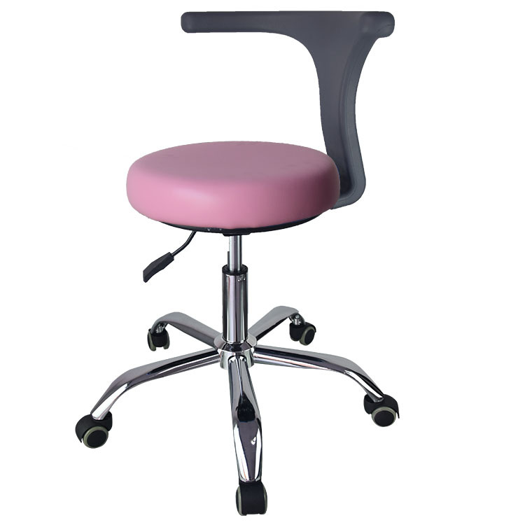 15%,Ergonomic Doctor Stool Dentist Swivel Rolling Chair With Back Swivel Adjustable Dentist Stool Dental Clinic SpaMassage