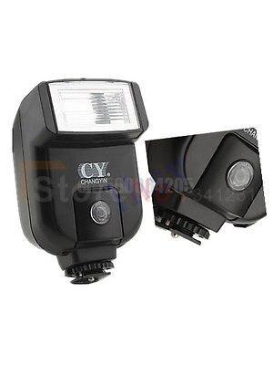 YINYAN CY-20 CY20 Chaude Sabot De Flash De Lumière avec 2.5mm PC Sync Port pour M 5D 7D 60D 10D 700D 650D 450D 500D 550D 600D 1100D