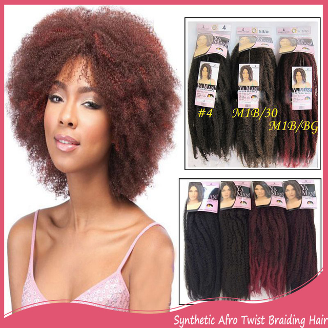 3pc Synthetic Afro Twist Braiding Hair Marley Braids Hair Extension