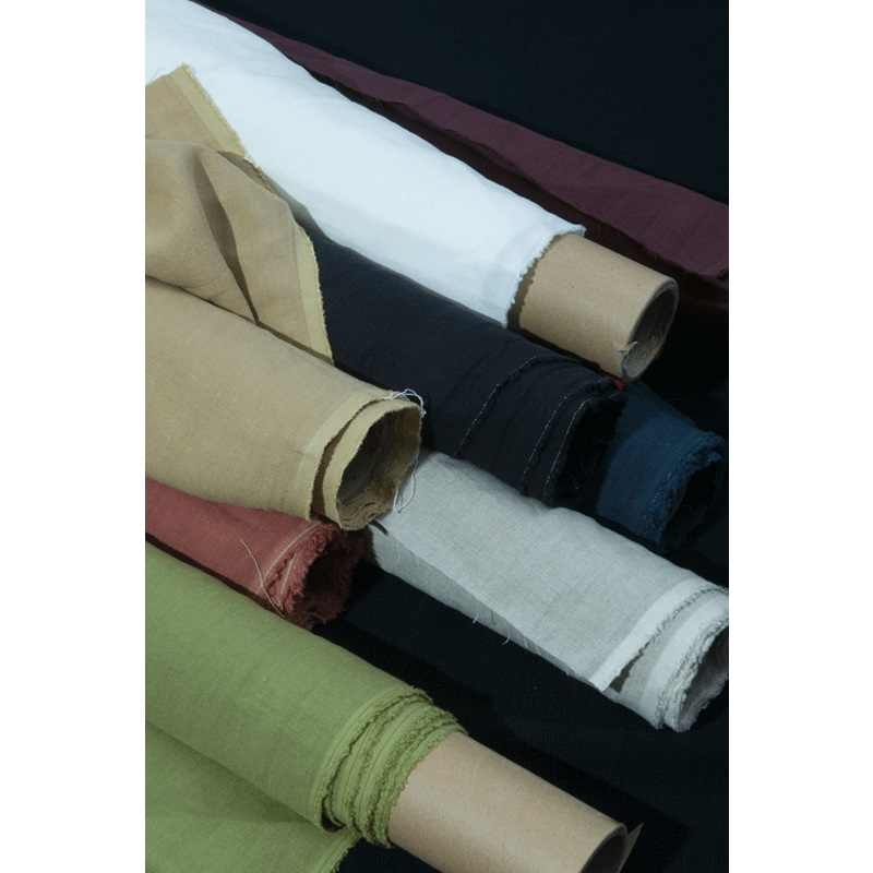 10 Colors: Japan natural 100% pure linen fabric, solid color, sewing for clothing, home Decor, Pillow, sofa, craft by the yard