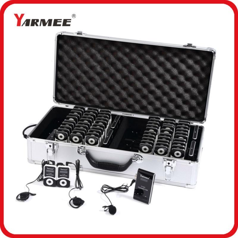 YARMEE горячий продавать беспроводной гид система / беспроводной церковная система ( 4Т/60р) YT100