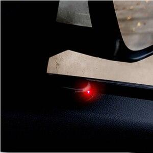 Image 5 - 1PCS Solar Power Car Alarm Lamp Security System Warning Theft Flash For Volkswagen VW Golf 5 6 7 PASSAT B5 B6 B7 B8 MK4 MK5 MK6