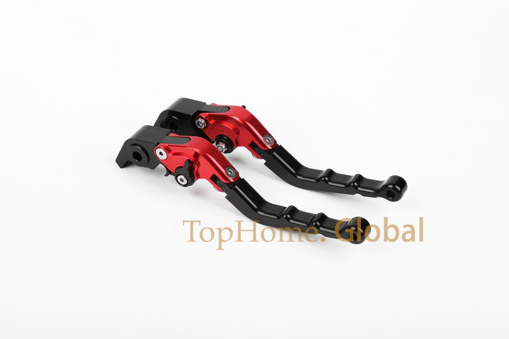 CNC Foldable Folding Fingers Wave Brake Clutch Levers For Honda CB600F/CB650F 2007-2013 Black&Red&Black 2008 2009 2010 2011 2012 8 colors cnc folding foldable extendable brake clutch levers for honda cb650f cb 650f cb 650 f 2007 2014 2008 2009 2010 sliver