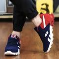 Heel ocultos Zapatos de Los Hombres 2016 Zapatos de Moda Casual Masculina Otoño Pisos Walking Entrenadores Transpirable Zapatillas Mujer zapatos de Deporte de Primavera Zapato