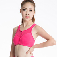 Women Professional Sports Bra 2017 Women Girls Shockproof Yoga Running Bras Underwear Sleep Padded Top Outwear Push Up Crop Top