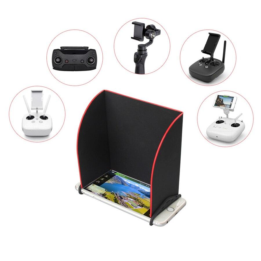 5.5//7.9 inch Phone Tablet Sunshade Monitor Sun Hood For DJI Spark Mavic Pro RC