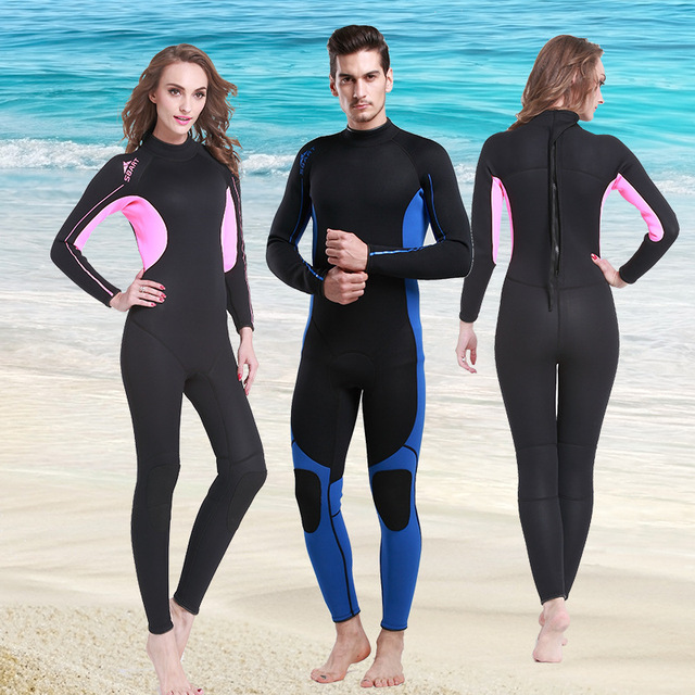 9589585781 US $79.9 |Swimsuit tracksuit for women neoprene swim wetsuit spandex one  piece wet suit neopreno surf traje de buceo mujer-in Wetsuit from Sports &  ...