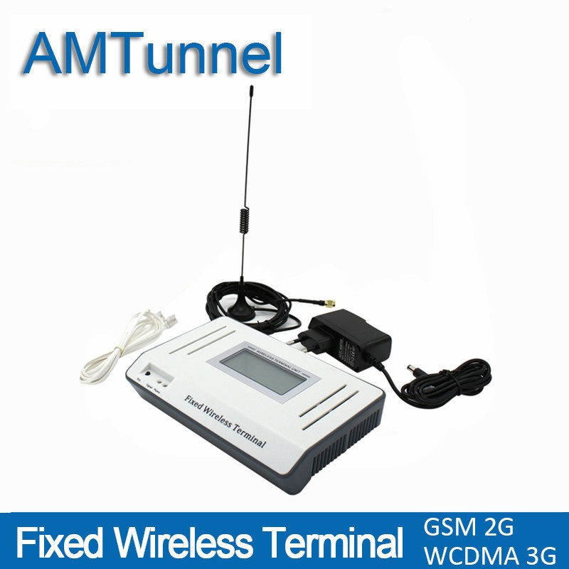 3G fixed wireless terminal UMTS WCDMA2100Mhz FWT 2G GSM FWT for connecting desktop phone or PBX