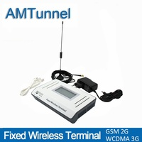 3G   fixed     wireless     terminal   UMTS WCDMA2100Mhz FWT 2G GSM FWT for connecting desktop phone or PBX or PBAX office home use