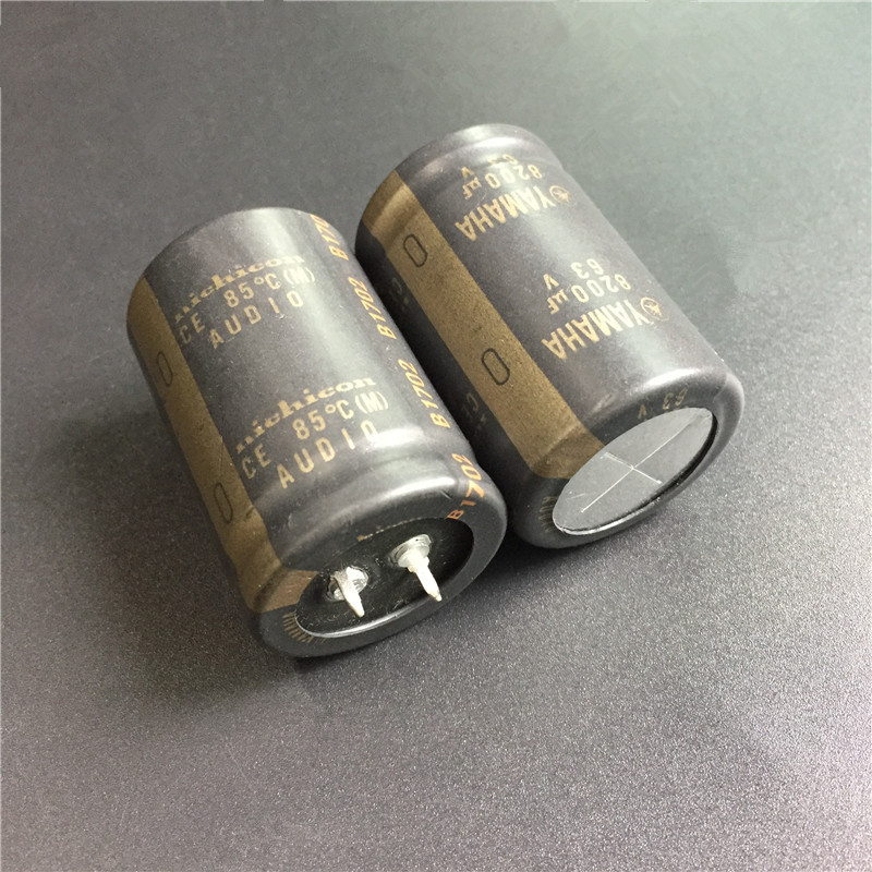 10pcs 8200uF 63V NICHICON for YAMAHA Audio 30x45mm 63V8200uF HiFi Audio Capacitor